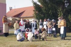 Vynášení smrtky v Hradištku - 17.3.2013
