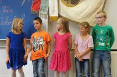 žáci třetí třídy